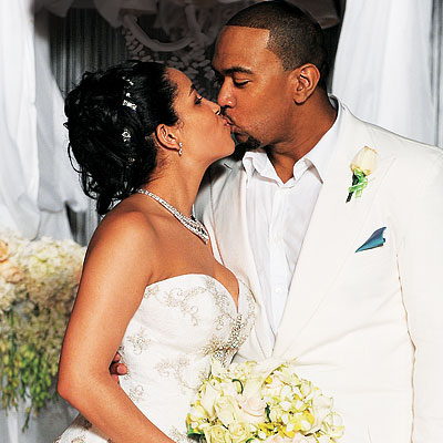 timbaland and wife-monique -wedding