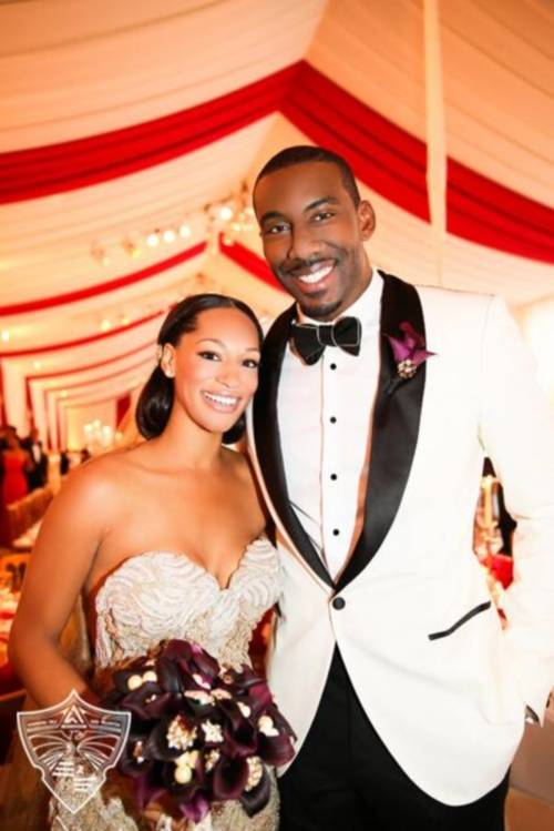 Amare-Stoudemire-wife-Alexis-Welch-maried