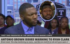 "ESPN's Ryan Clark Responds To Antonio Brown's Invitation To Fight: ""I Can't Wait, Let's Catch That Fade And Move On! (Video)"