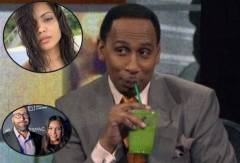 "Stephen A. Smith Speaks On NBA Coach David Fizdale's Wife: ""My Gawd, She's Something Special! (Video)"