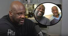 Shaquille O'Neal Speaks On Meeting His Biological Father For The First Time At Age 44: 'I Don't Judge Him!' (Video)