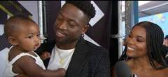 Dwyane Wade & Gabrielle Union Open Up About Parenthood And Their New Baby Girl Kaavia James. (Video)