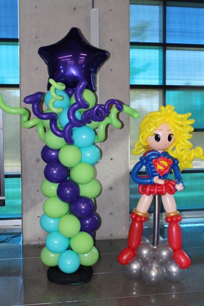 Balloon Columns  Balloon Blast