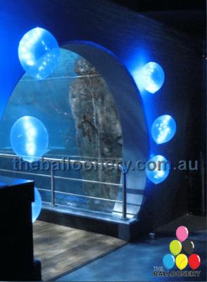 LED Balloons at the Melbourne Aquarium