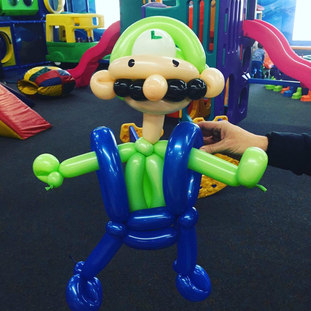 Luigi by The Balloon Guy