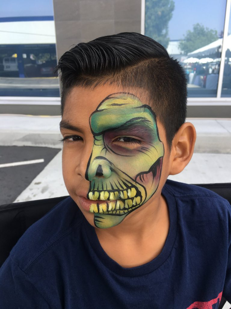 Monster Face Painting by TheBalloonGuyLA.com