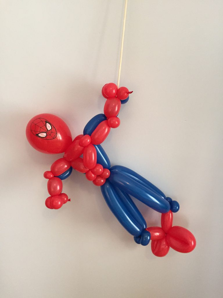 Spider Man Super Hero Balloon by The BalloonGuyLA.com