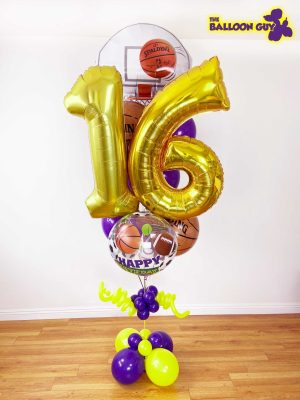 Basketball Balloon Bouquet