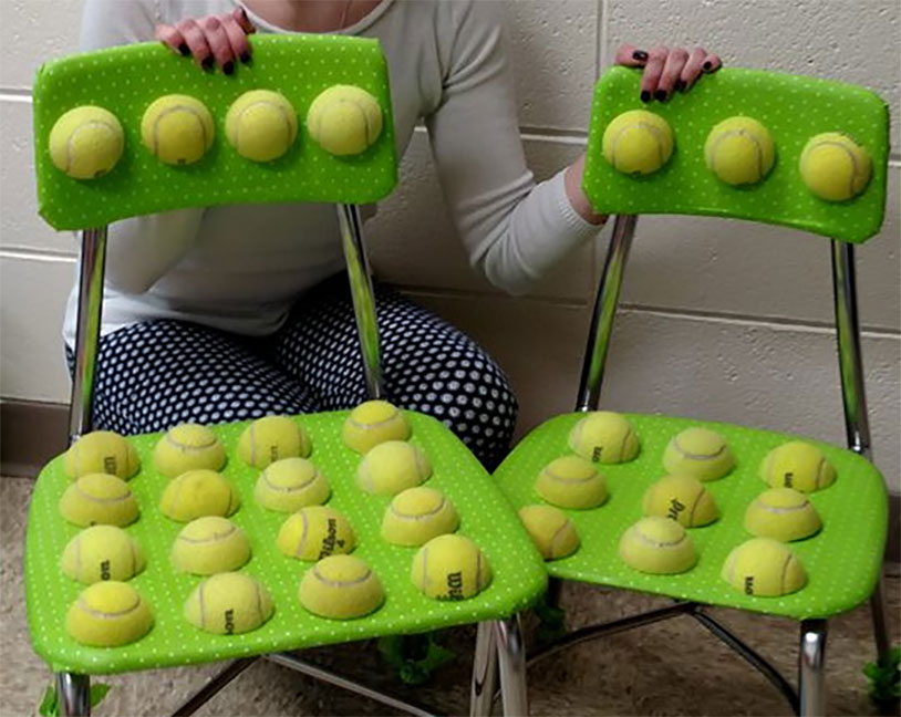 ball chairs walgreens transport chair lightweight the report autistic tennis