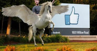 Proving limits to his philanthropy, Zuckerberg will keep flying unicorn