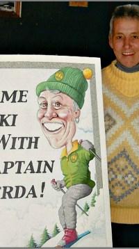 Come Ski with Captain Gerda