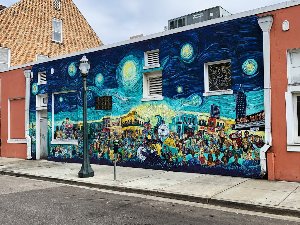 &Quot;The Souls Of Mobile&Quot; Mural