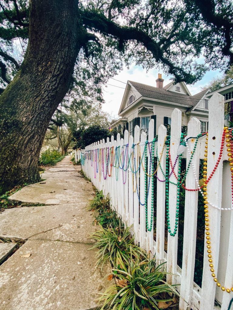 Mobile Porch Parade - Decorative Fence