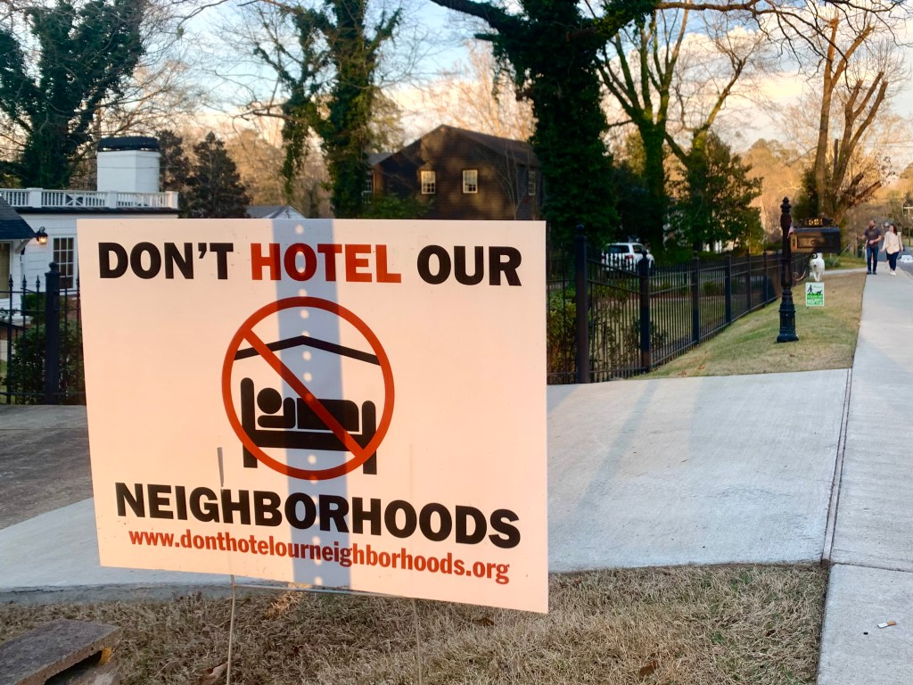 Don'T Hotel Our Neighborhoods 3