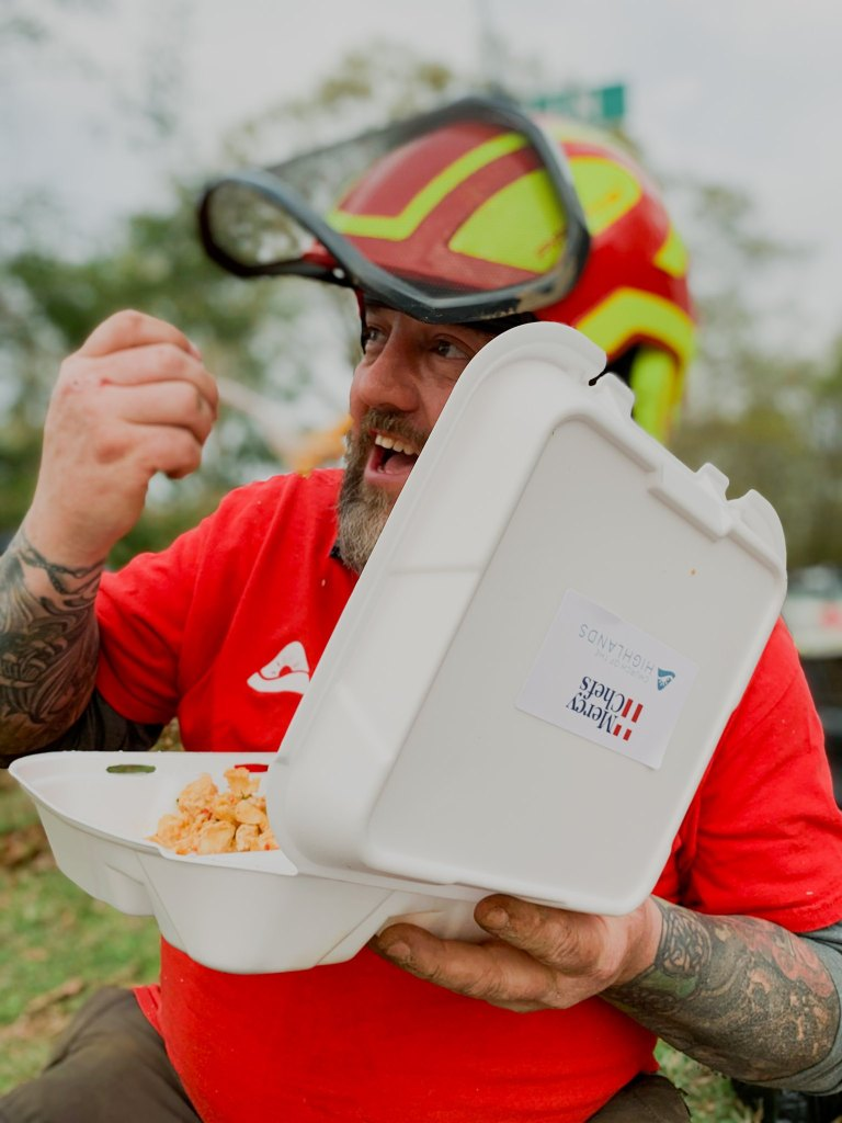 Mercy Chef Volunteering In Alabama