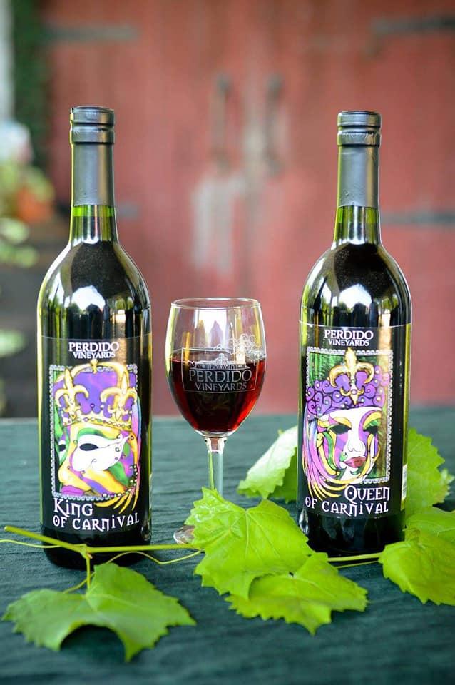 Perdido Vineyards Red Wines Three Alabama Wine Trails