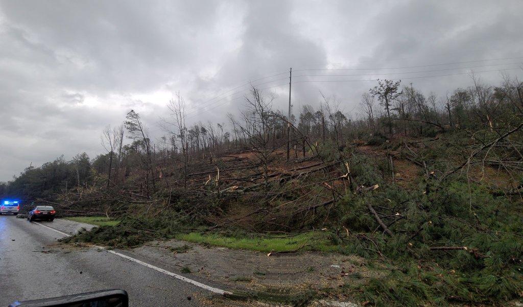 Wreckage From Alabama Tornado