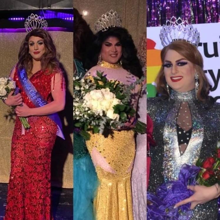 Past Winners Of The Miss Druid City Pride Pageant. Photo Via Druid City Pride'S Facebook.