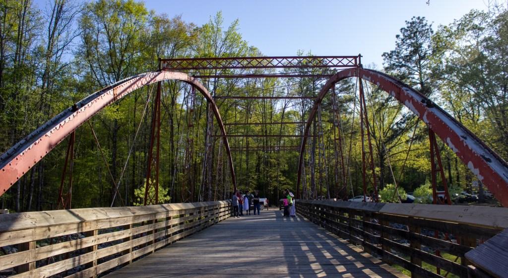 The Oldest Iron Bridge In Alabama.
