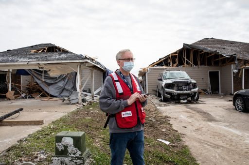Assessing Storm Damage In The South Photo By Scott For Arc Gulf Coast Hurricane Season 2021, Hurricane Prep, Hurricane Preparedness, Hurricane Season, Prep For Hurricanes