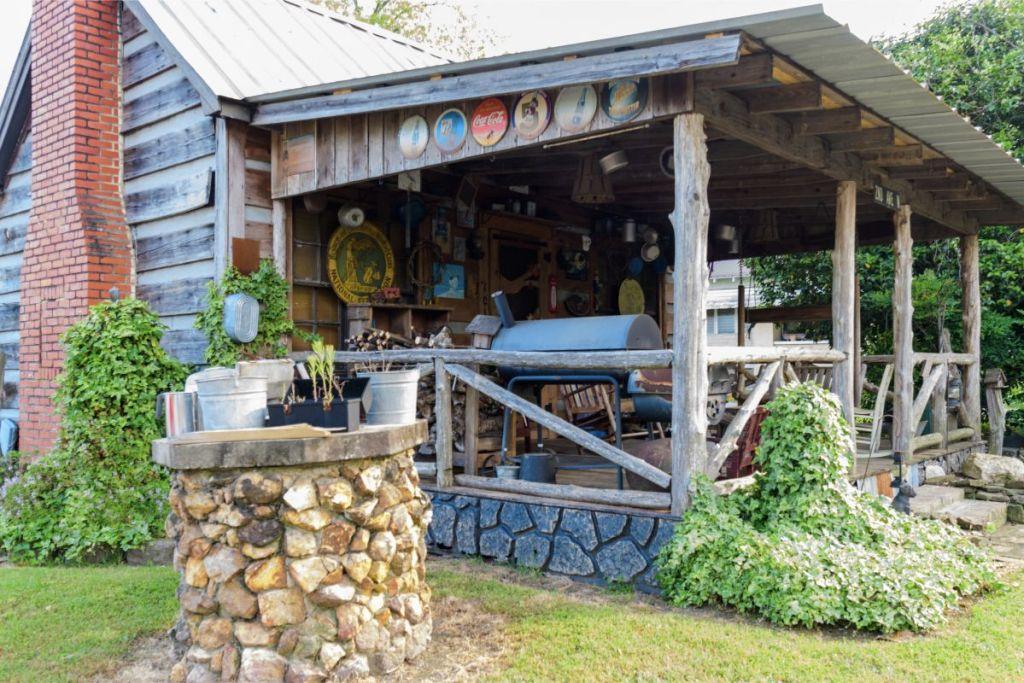 Chilton County Porch