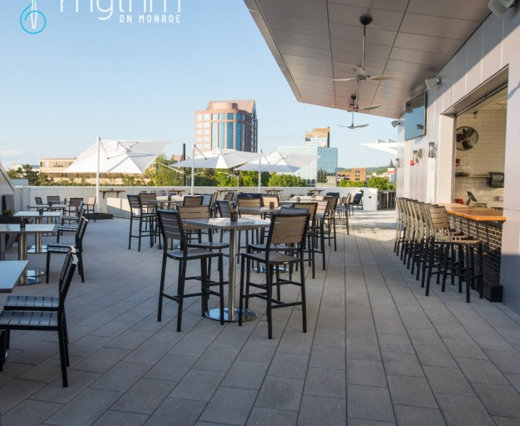 The Rooftop At Rhythm On Monroe.