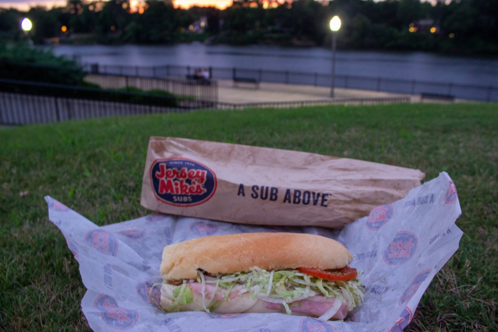 Jersey Mike'S By The Black Warrior River. Nothing Better! Photo By Libby Foster For The Bama Buzz.