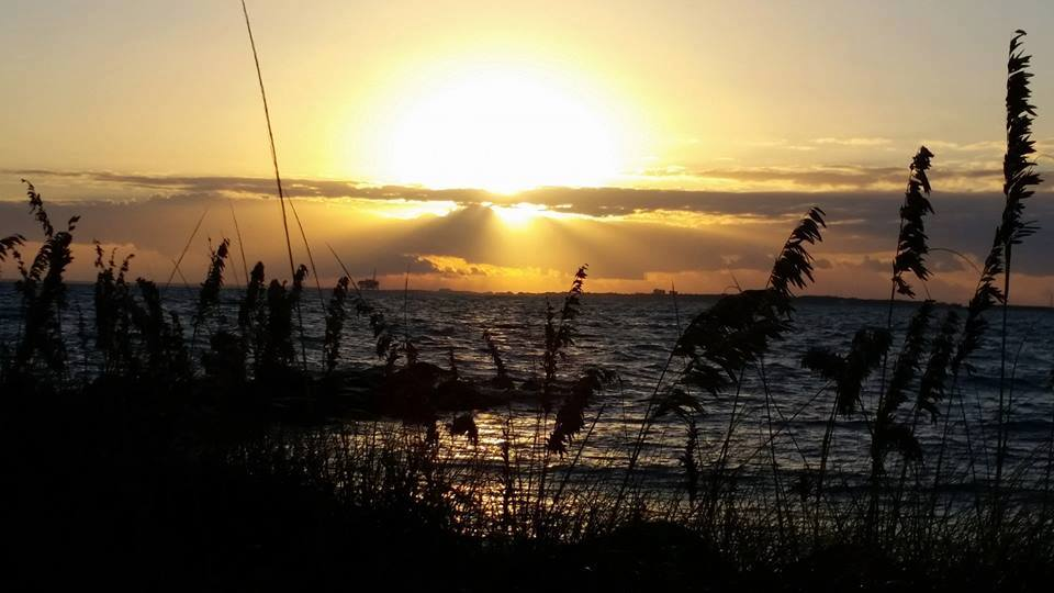 Sunset On Dauphin Island