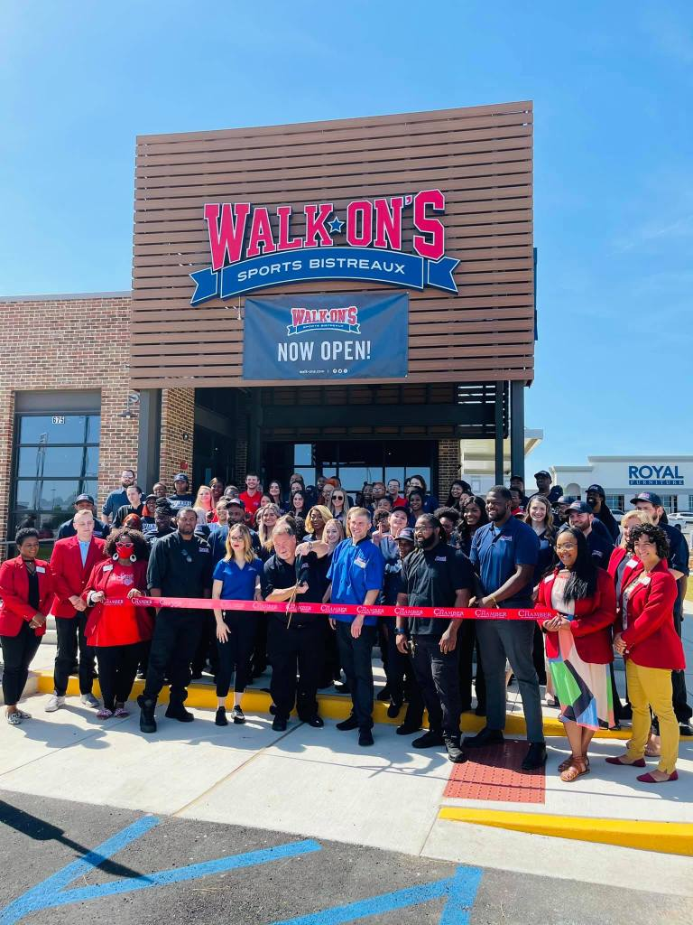The New Walk On'S In Tuscaloosa Opened This Month. How Exciting! Photo Via Walk On'S Sports Bistreaux'S Facebook.
