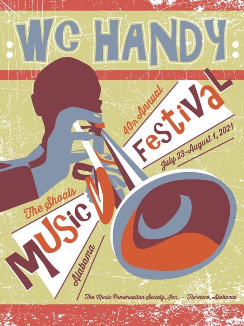 W.c. Handy Festival Flyer