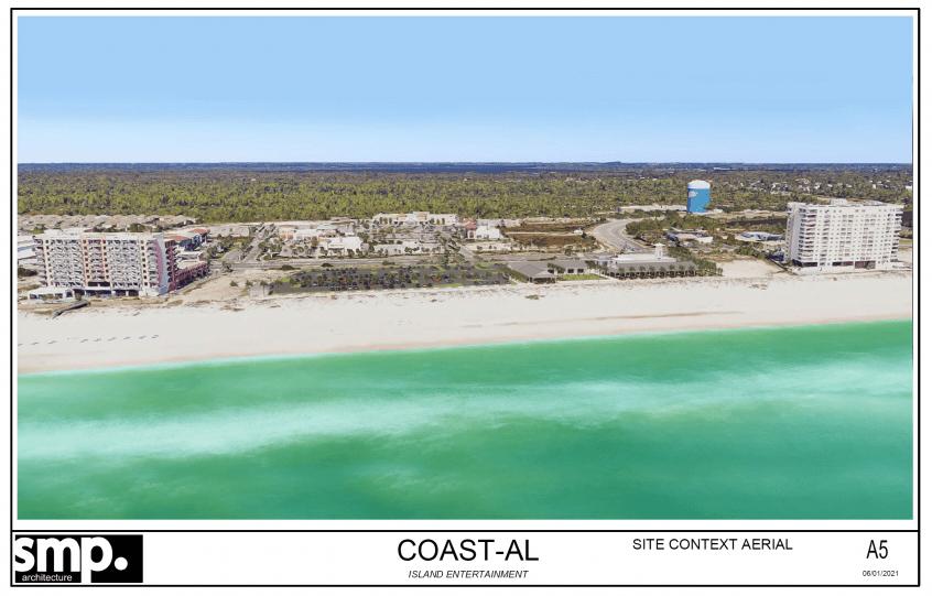 Orange Beach Coastal Rendering