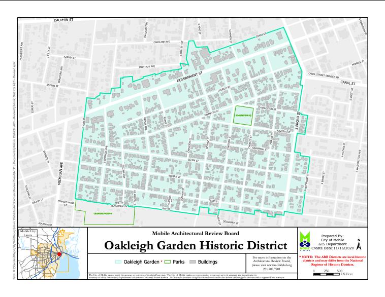Oakleigh Map