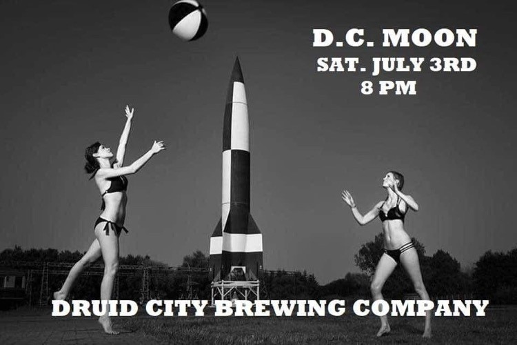 Dc Moon Is Performing At Druid City Brewing Company! Photo Courtesy Of Druid City Brewing Co.