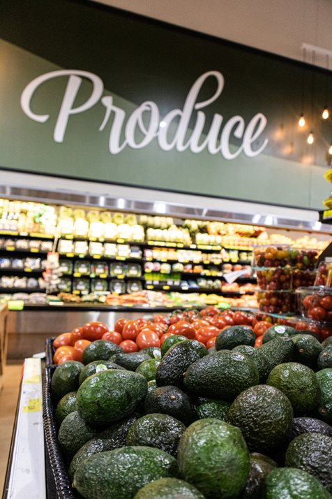 Produce On Display At Alabama Grocery Stores