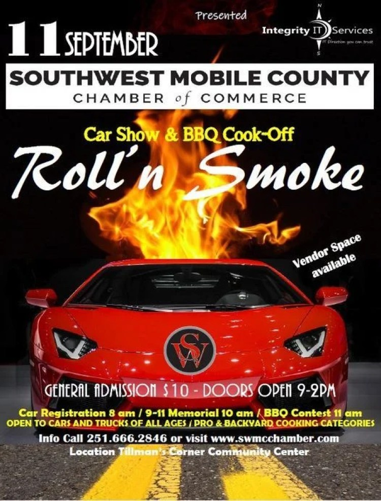 Flyer For Roll'N Smoke 2021