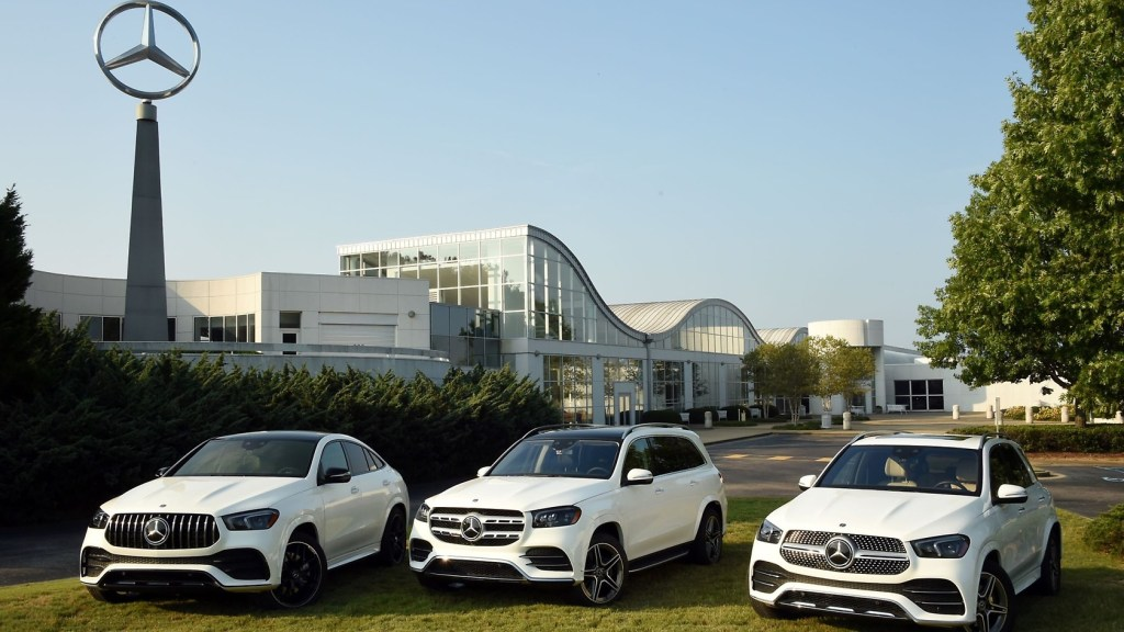The Mercedes-Benz U.s. International Facility In Tuscaloosa Country.