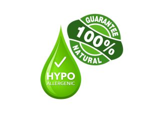 100% hypoallergenic