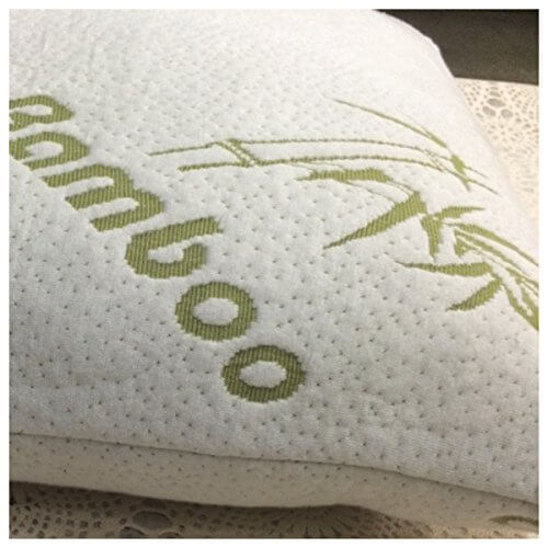 White Bamboo Shredded Memory Foam Pillows