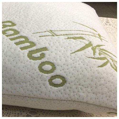 White Bamboo Shredded Memory Foam Pillows