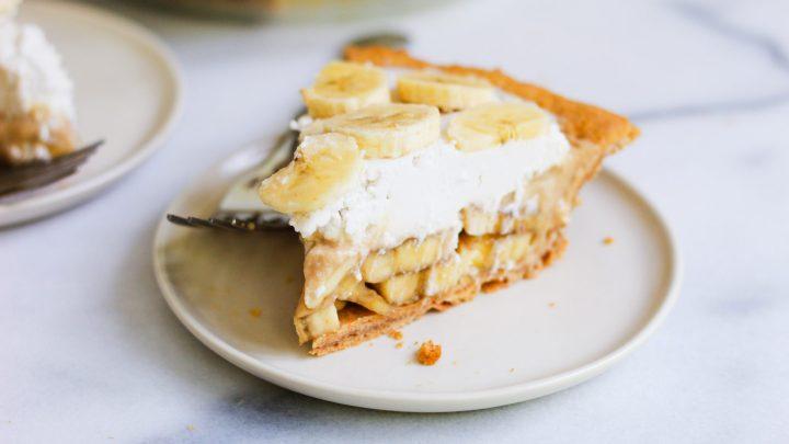 paleo banana cream pie header