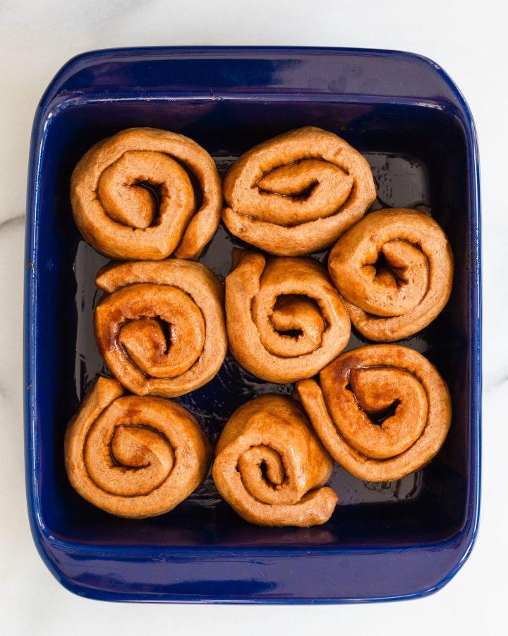 easy cinnamon rolls before baking