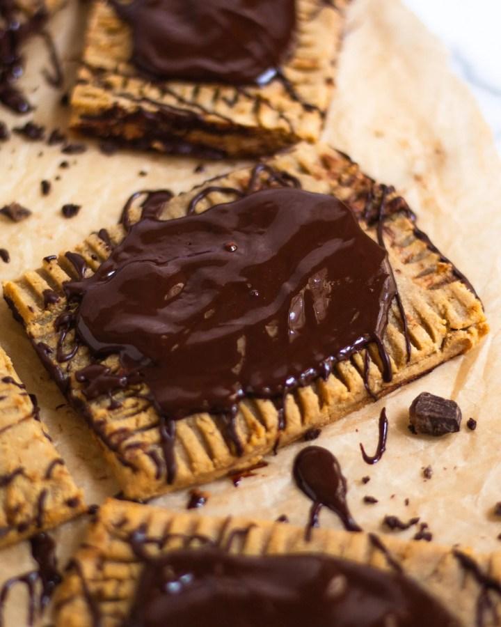 close up of gluten free pop tart