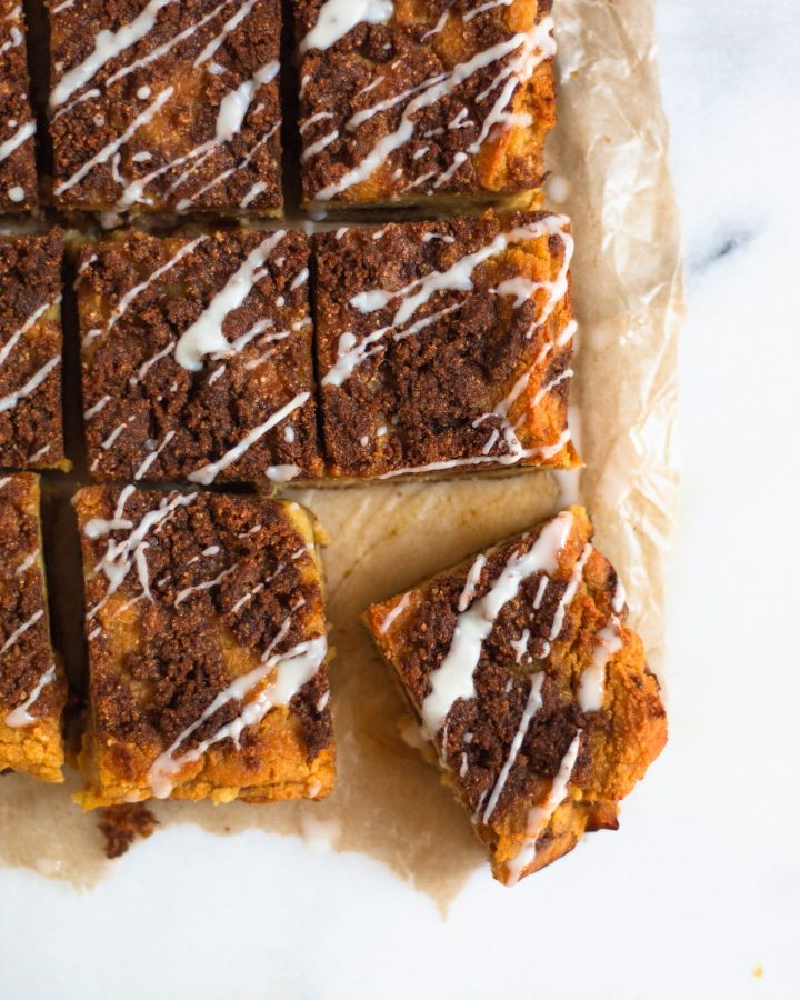 baked old fashioned cinnamon coffee cake