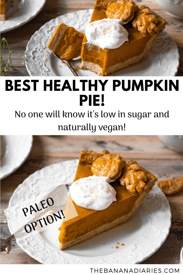 pinterest image for pumpkin pie