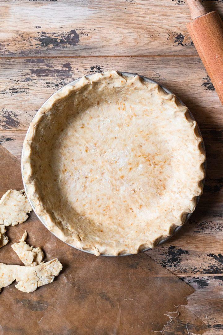 pie crust in shell