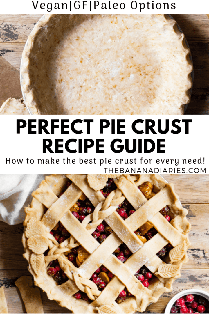 pinterest pin for perfect pie crust
