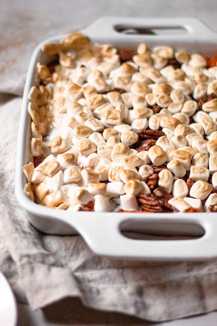 marshmallows sweet potato casserole