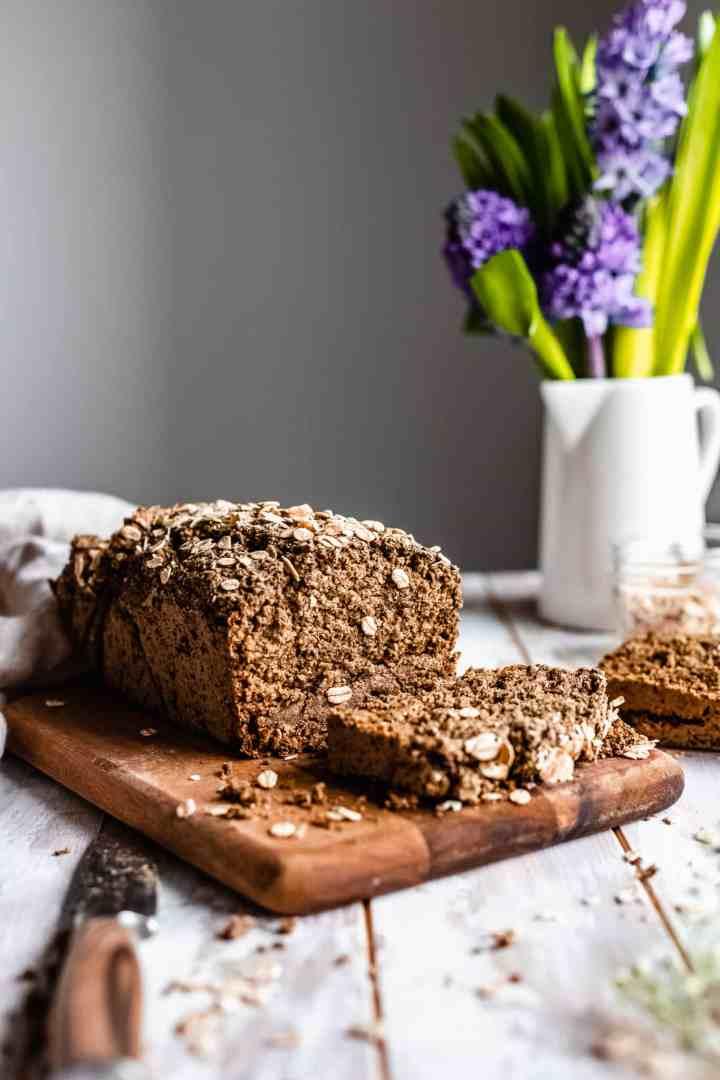vegan gluten free oat bread