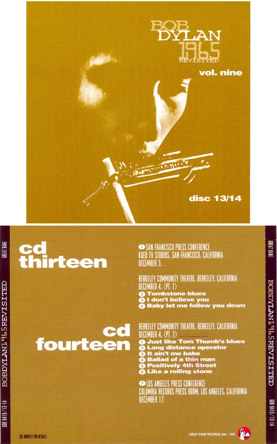Bob Dylan 1965 Revisited
