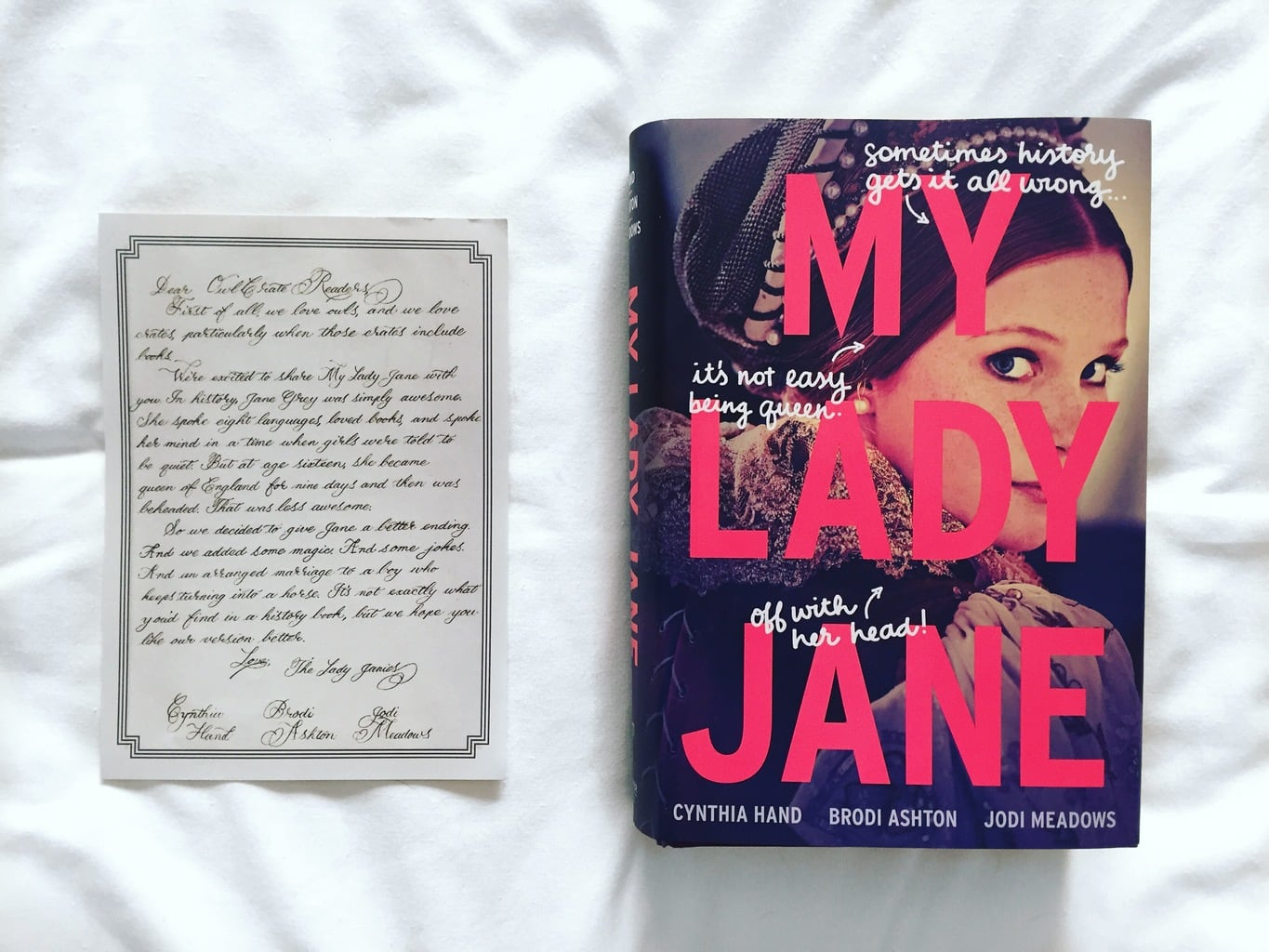 Book Review: My Lady Jane + OwlCrate Unboxing